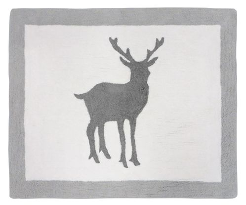 Woodland Animals Accent Floor Rug by Sweet Jojo Designs - Click to enlarge