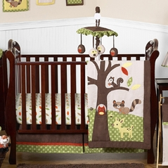 Woodland Forest Animals Baby Bedding - 11pc Crib Set by Sweet Jojo Designs