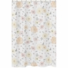 Yellow and Pink Watercolor Floral Bathroom Fabric Bath Shower Curtain by Sweet Jojo Designs - Blush Peach Orange Cream Grey and White Shabby Chic Rose Flower Farmhouse