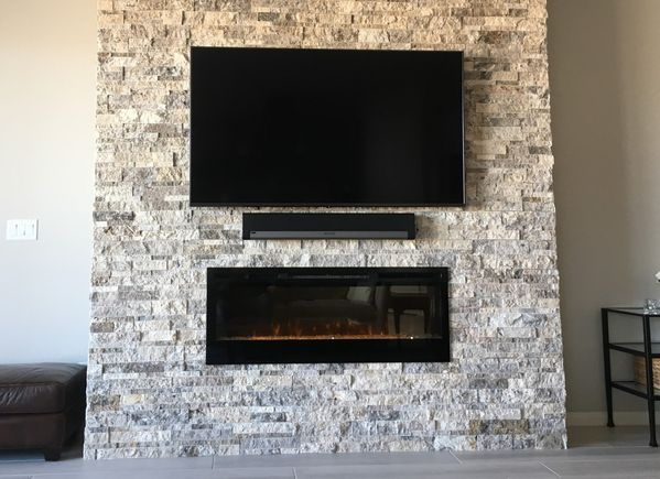 Dimplex Blf50 Synergy Wall Mounted Electric Fireplace With Glass