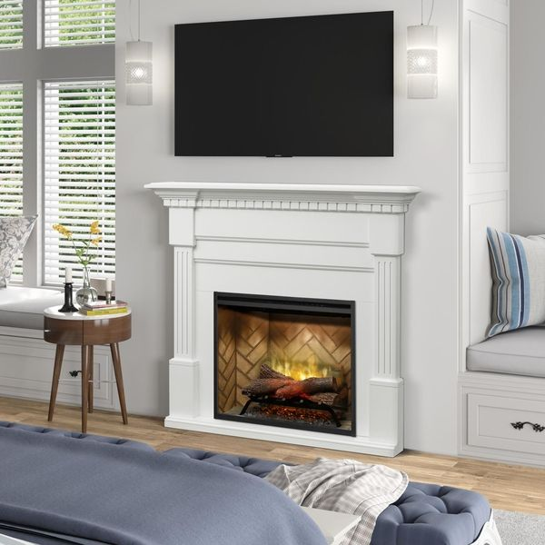Dimplex Christina Mantel Electric Fireplace Package 1500 W And