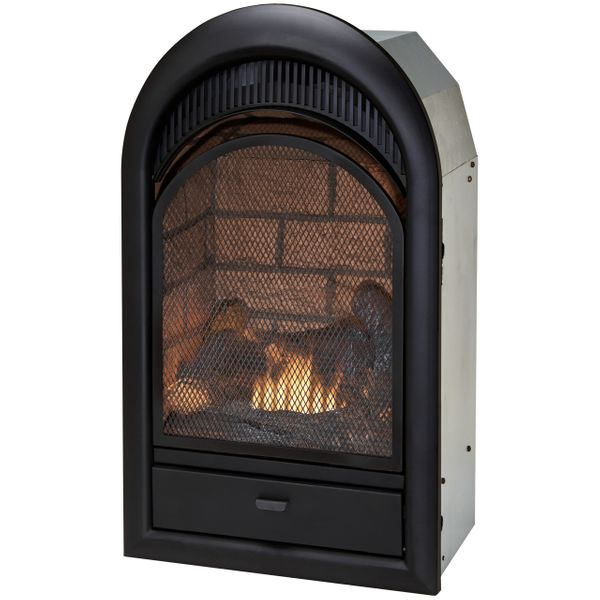 Duluth Forge 16 Inch Dual Fuel Vent Free Fireplace Insert Fdf150t