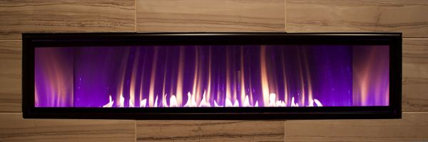Empire Boulevard 60 inch Vent-Free Linear Gas Fireplace
