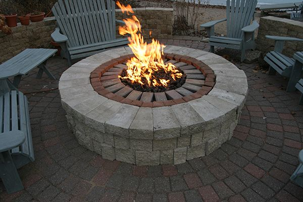 Hearth Products Controls 36 Quot High Capacity Fire Pit Kit