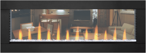 Napoleon CLEARion 50 Inch See Thru Electric Fireplace with ...