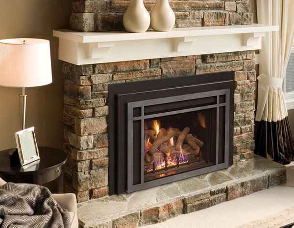 Real Fyre 25 Iseries Traditional Direct Vent Fireplace Insert