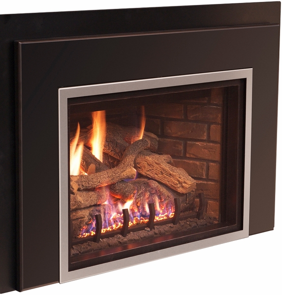 Real Fyre Large 3 Sided Surround For Dvi 25 Series Direct Vent Gas Fireplace Inserts