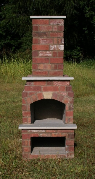 Stone Age Manufacturing 18 Veranda Outdoor Fireplace Kit With Arched Lintel