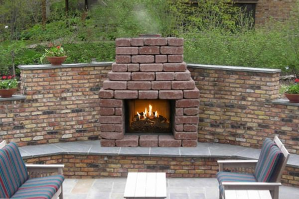 Stone Age Manufacturing 24 Patio, Outdoor Fireplace Pictures