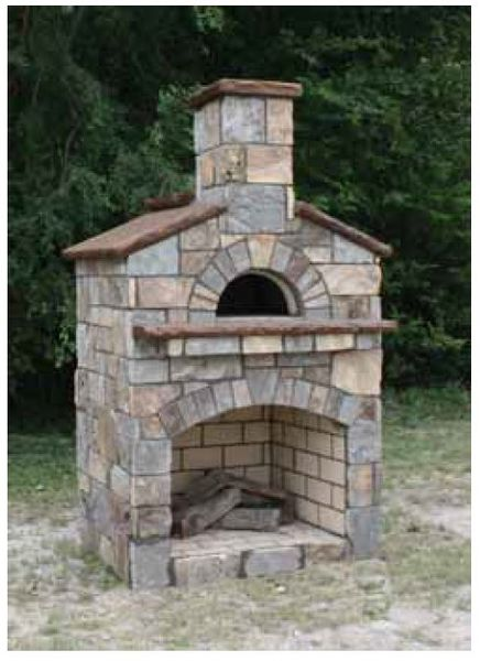 Stone Age Manufacturing 36 Quot Mezzo Masonry Pizza Oven And Combination Fireplace