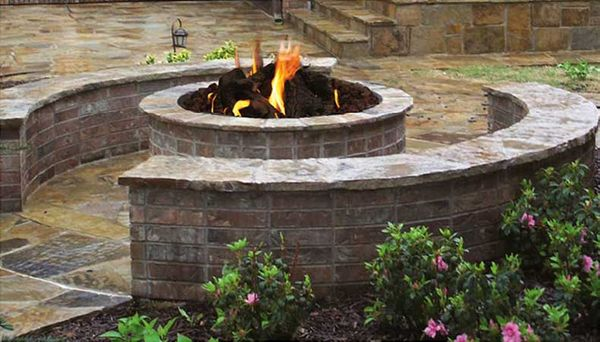 Stone Age Manufacturing 42 Inch Short Round Outdoor Fire ...