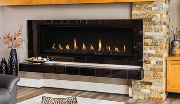 Superior 60 Inch Drl4000 Linear Direct Vent Gas Fireplace