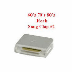 60's/ 70's/ 80's ROCK Song Chip #2    Magic MIC    137 songs