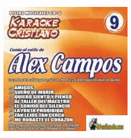 ALEX CAMPOS KARAOKE CRISTIANO    Magic Music   KCM 009