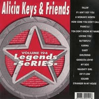 ALICIA KEYS & FRIENDS  Legends Series   LG 194