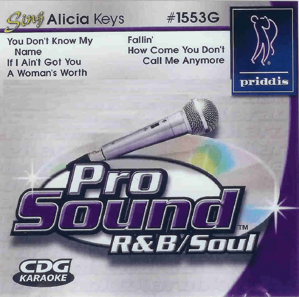 ALICIA KEYS   Prosound  R&B/Soul 1553