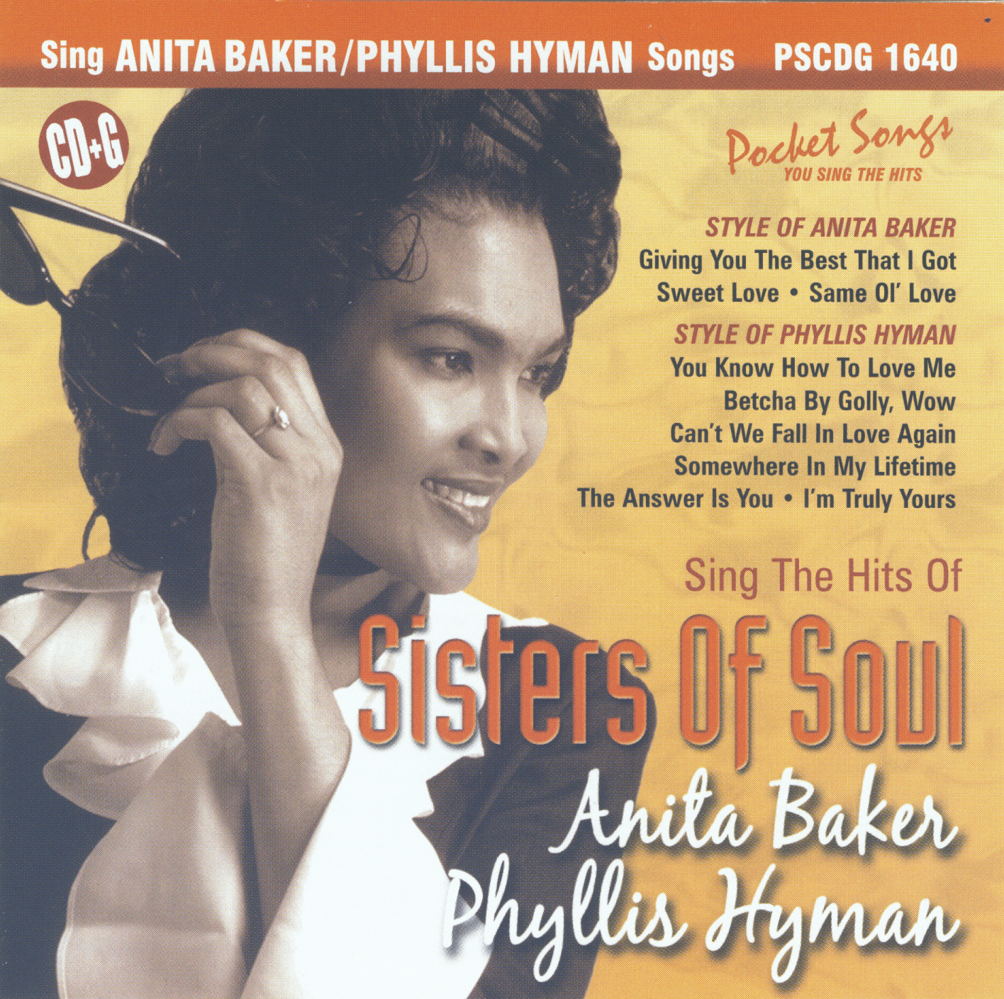 ANITA BAKER & PHYLLIS HYMAN     Sisters Of Soul Pocket Songs    PS1640