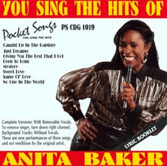 ANITA BAKER  Pocket Songs  PS1019