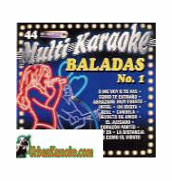 BALADAS NO. 1 VOLUME 44  Multi Karaoke  MK 44
