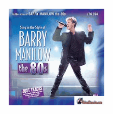 BARRY MANILOW The 80's     Just Tracks    JTG 394