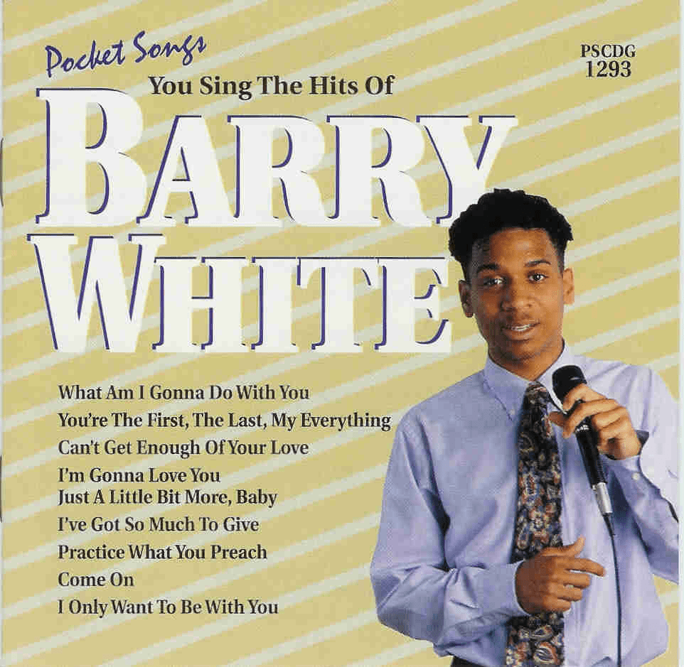 BARRY WHITE        Pocket Songs       PS1293