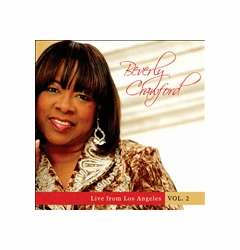 BEVERLY CRAWFORD LIVE FROM LOS ANGELES VOL.2  - Original CD