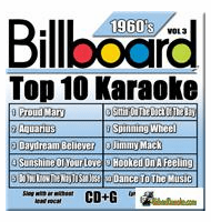 BILLBOARD 1960'S TOP 10 KARAOKE VOL.3    Party Tyme Karaoke  SYB 1963