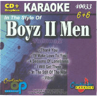 BOYZ II MEN Vol. 2   Chartbuster  6+6   CB40033