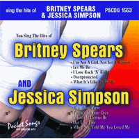 BRITNEY & JESSICA     Pocket Songs    PSCDG 1553