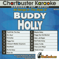 BUDDY HOLLY     Chartbuster    CB 90342