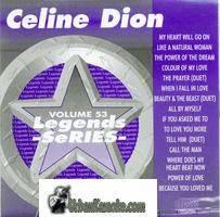 CELINE DION  Vol. 53   Legends Series LG053