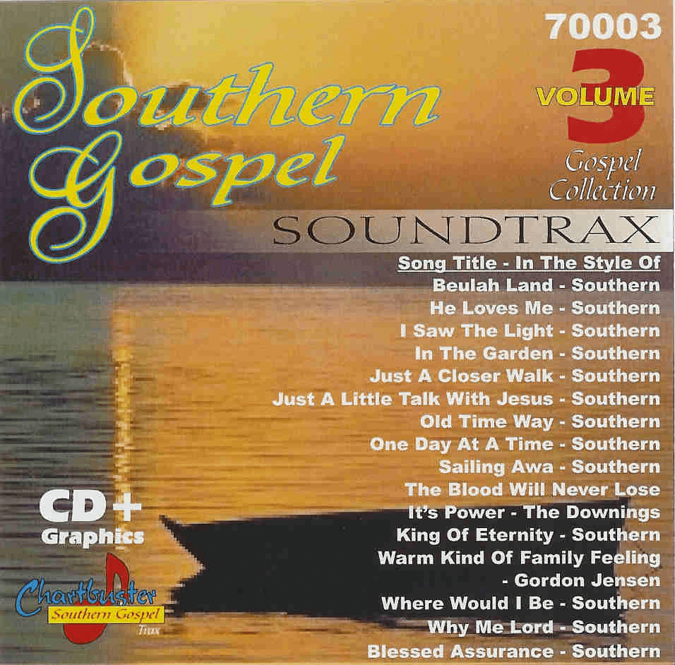CHARTBUSTER SOUTHERN GOSPEL 70003 VOLUME 3