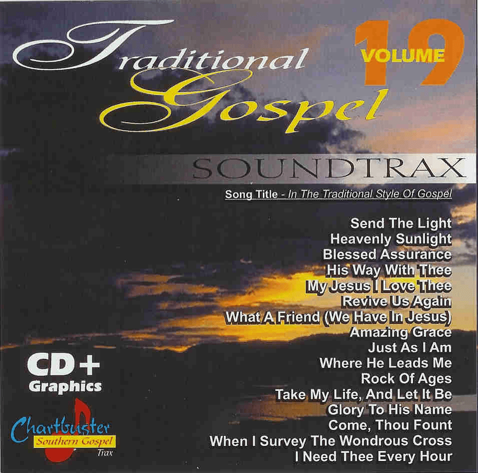 CHARTBUSTER TRADITIONAL GOSPEL 70019 VOLUME 19