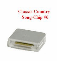 CLASSIC COUNTRY Song Chip #6    Magic MIC   148 songs