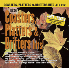 COASTERS  PLATTERS & DRIFTERS HITS!   Pocket Tracks   JTG 012