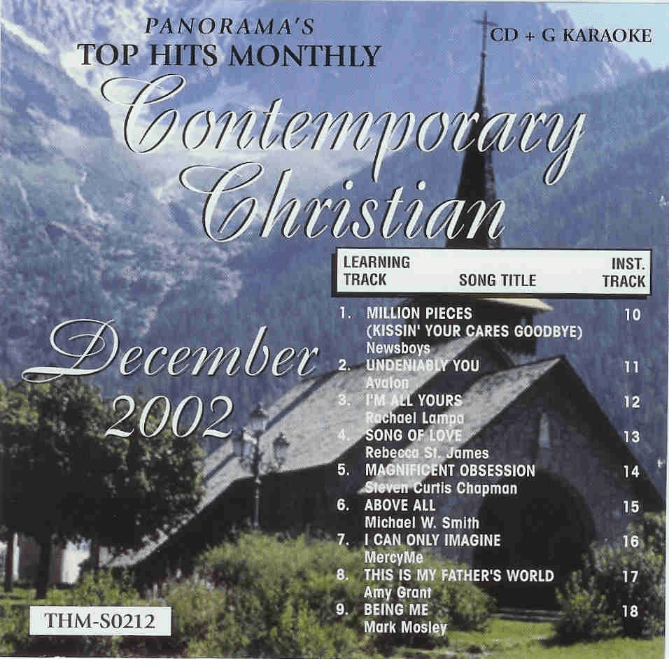 CONTEMPORARY CHRISTIAN DECEMBER 2002  Top Hits Monthly  SO212