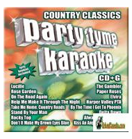 COUNTRY CLASSICS    Party Tyme Karaoke SYB 1049