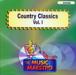 COUNTRY CLASSICS  Vol. 1      Music Maestro     MM 6088