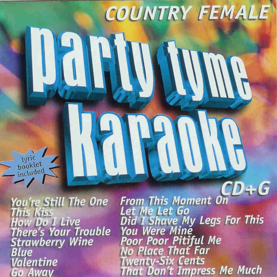COUNTRY FEMALE    Party Tyme Karaoke   SYB 1017