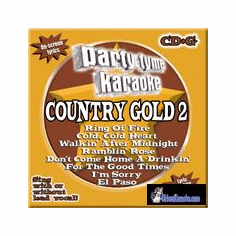 COUNTRY GOLD 2       Party Tyme Karaoke    SYB  1628