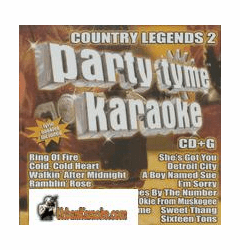 COUNTRY LEGENDS 2    Party Tyme Karaoke  SYB 1075