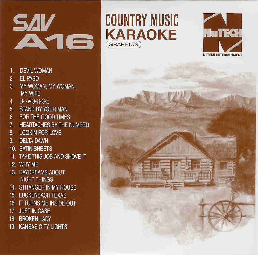 COUNTRY MUSIC    Nikkodo Country Hits  SAV A016