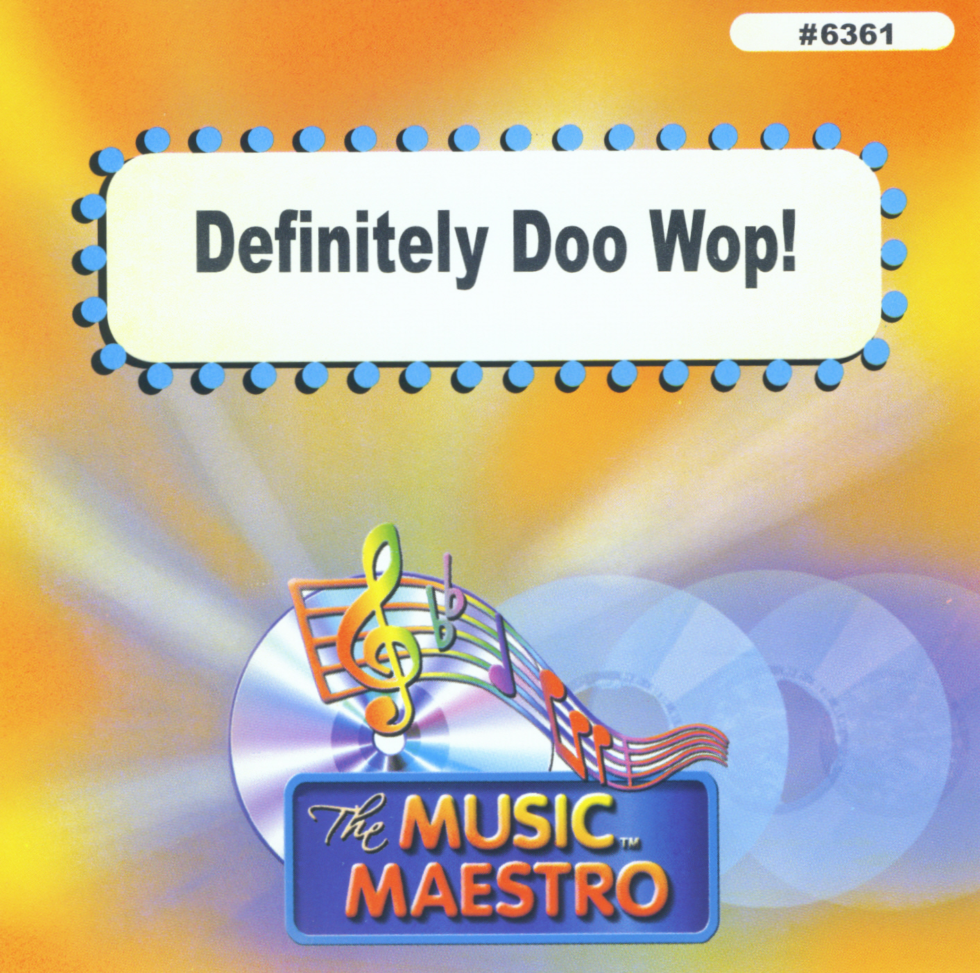 DEFINITELY DOO WOP!     Music Maestro  MM 6361