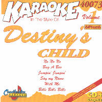 DESTINY�S CHILD        Chartbuster  6+6      CB40073