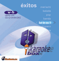 EXITOS EN ESPANOL II  Karaoke Box vol. 5  KB 5