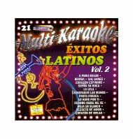 EXITOS LATINOS Vol. 2   Multi Karaoke  MK 0021