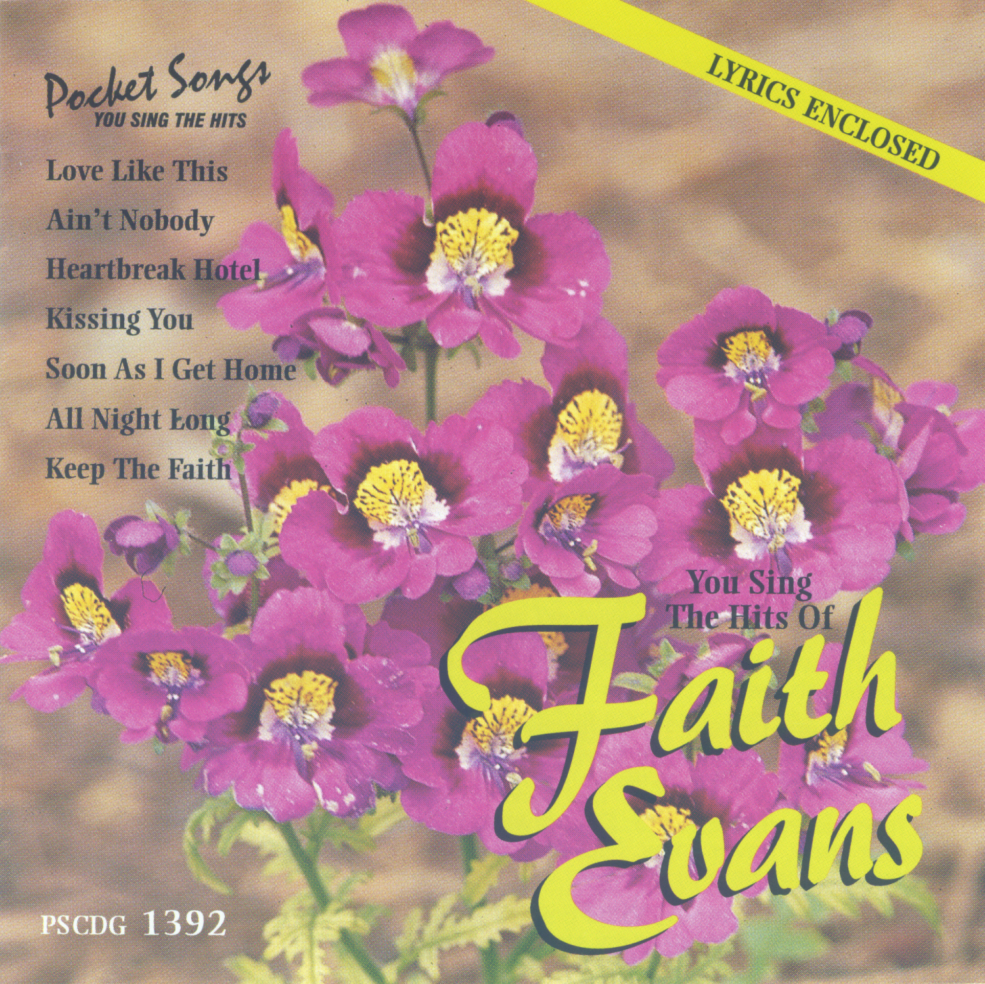 FAITH EVANS     Pocket Songs     PS1392