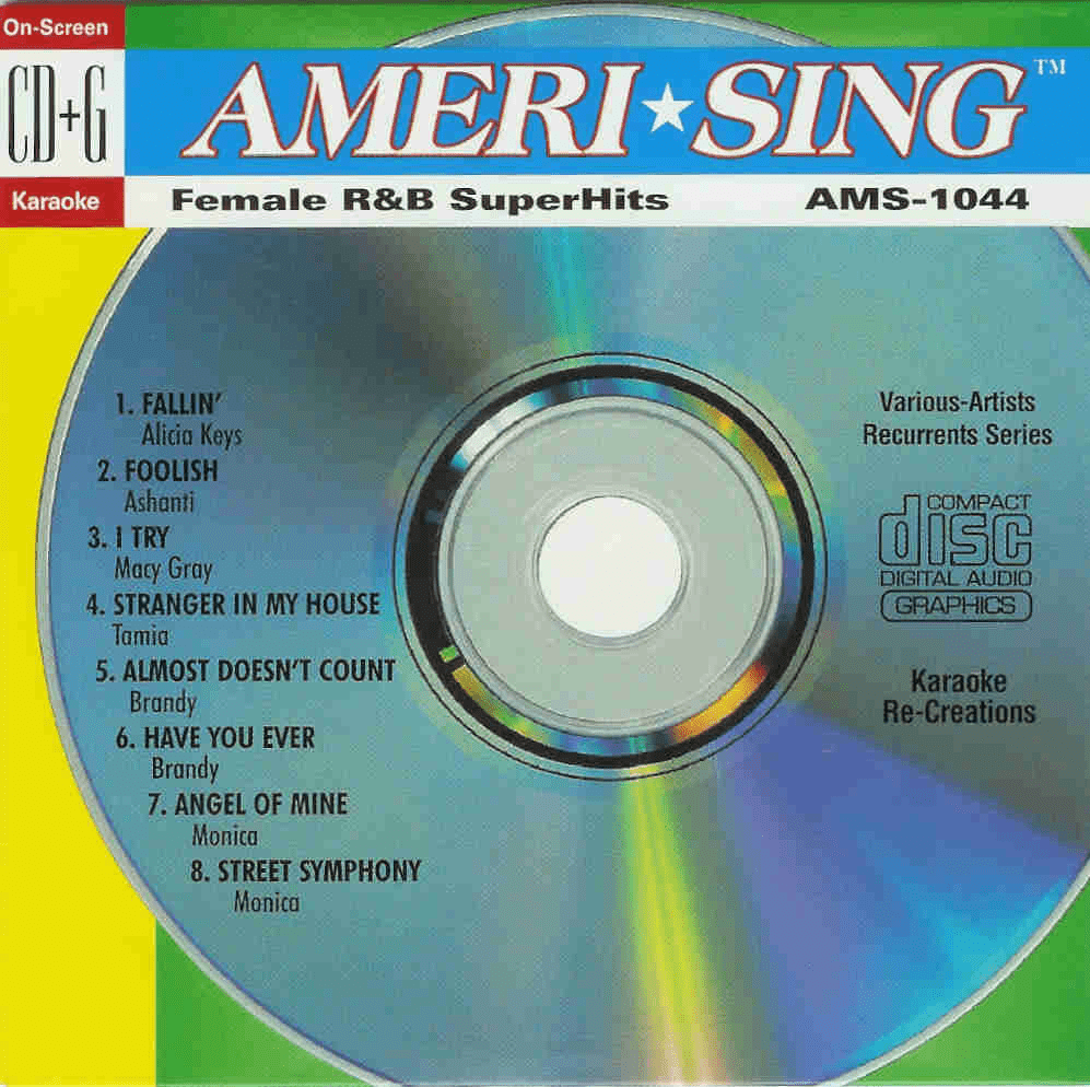 FEMALE R&B SUPERHITS   Ameri*Sing   AMS 1044