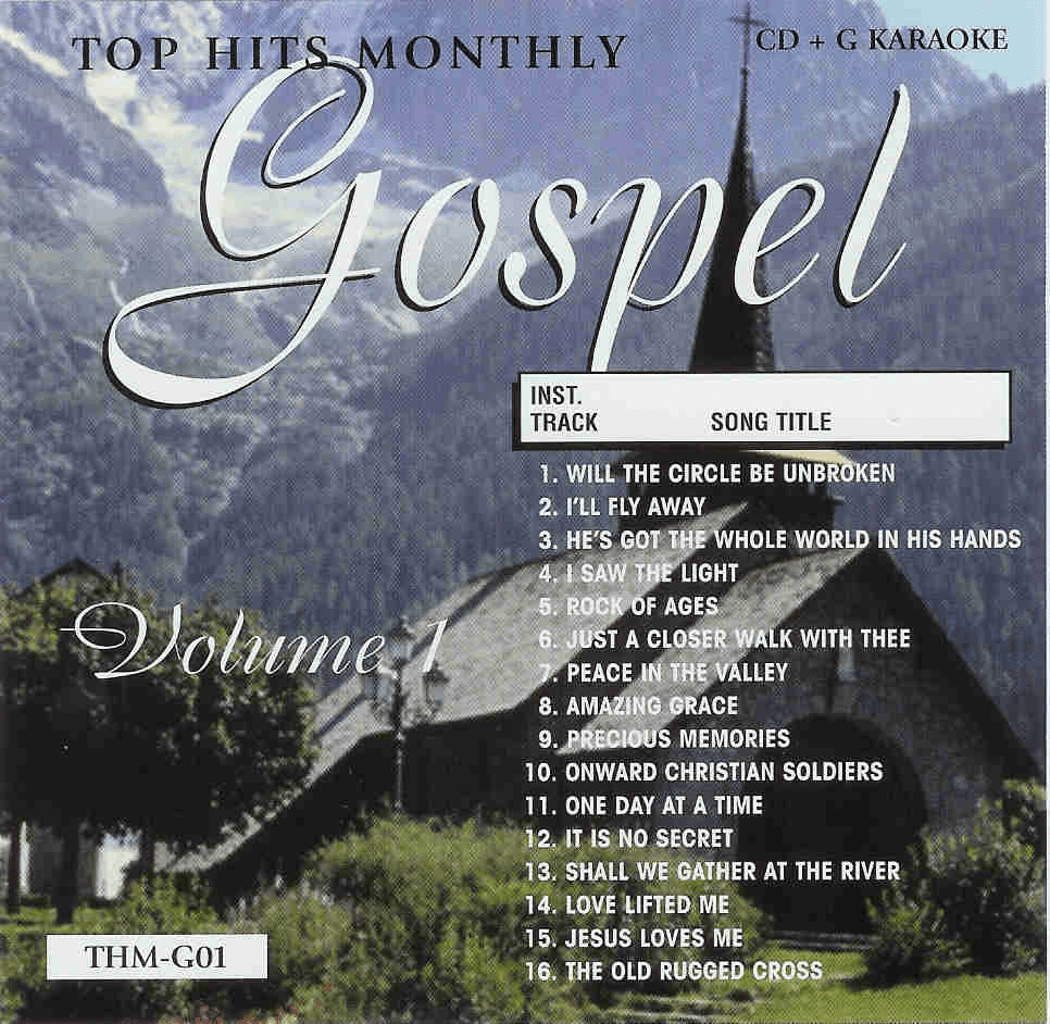 GOSPEL Vol. 1   Top Hits Monthly GO1
