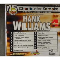 HANK WILLIAMS Vol. 4    Chartbuster Gospel  CB 90309